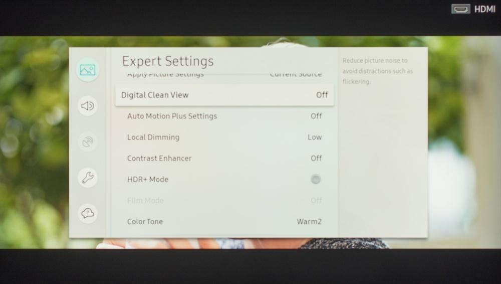 Samsung Q6FN Calibration Settings 5