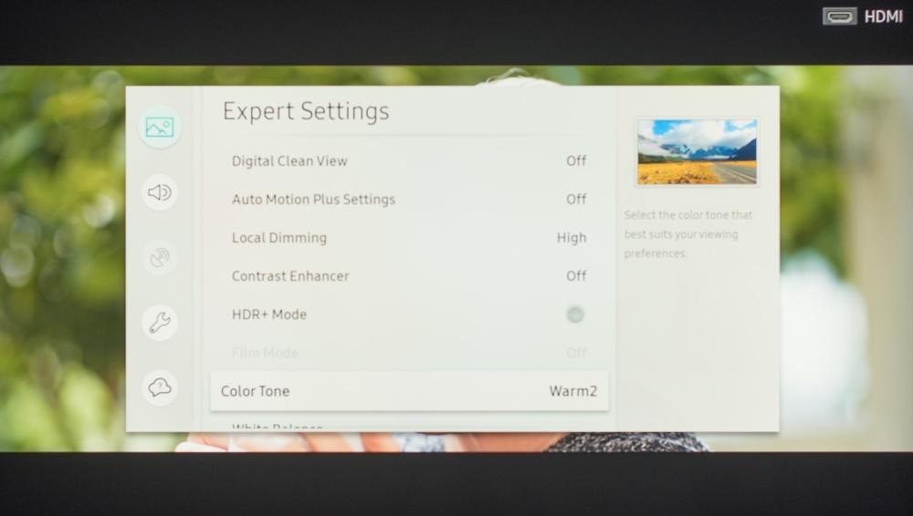 Samsung Q6FN Calibration Settings 6