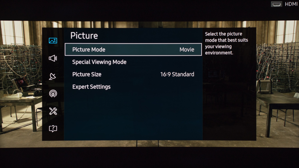 Samsung KU6600 Calibration Settings 1