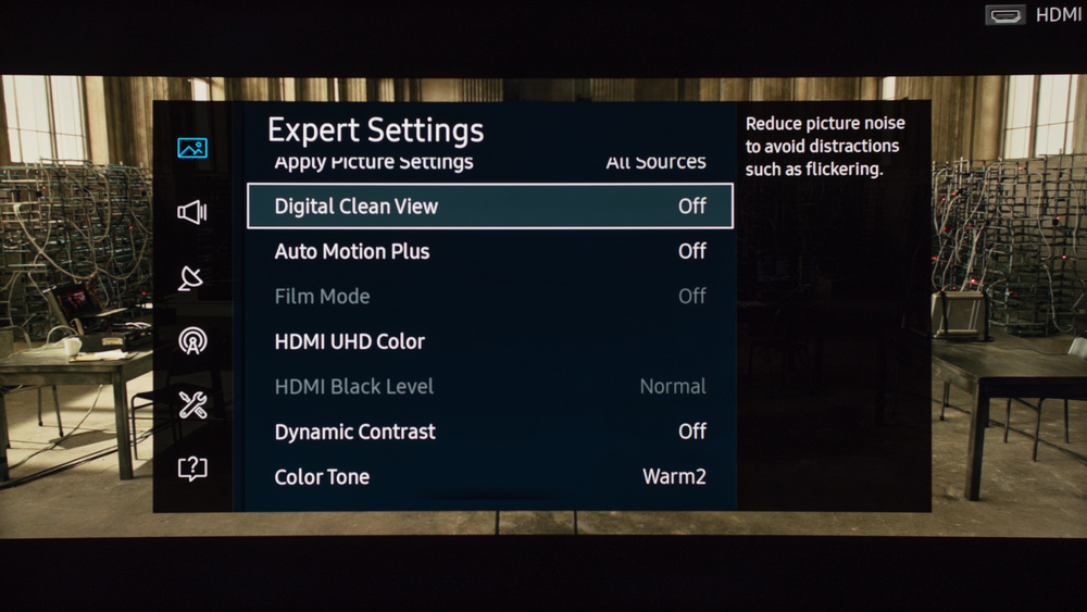 Samsung KU6600 Calibration Settings 3