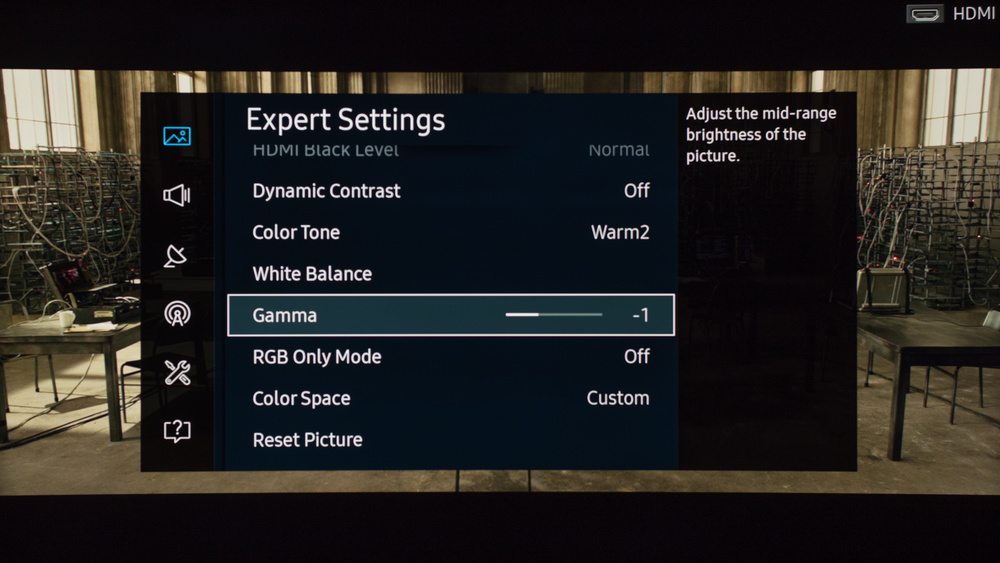 Samsung KU6600 Calibration Settings 5