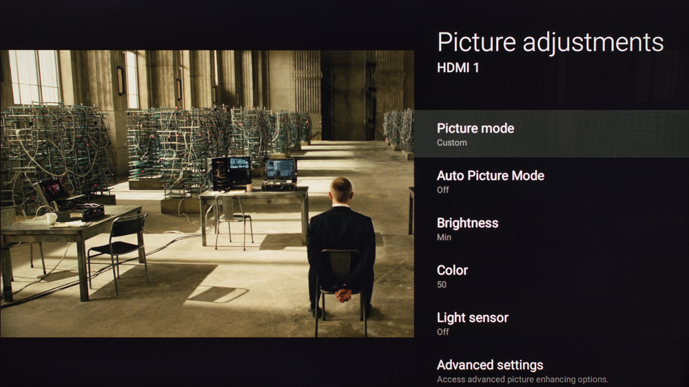 Sony X850D Calibration Settings 1