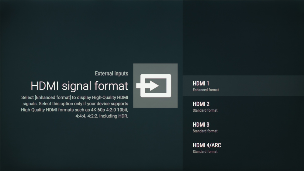 Sony X850D Calibration Settings 17