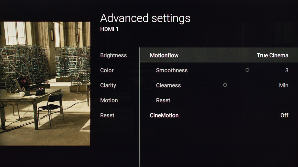 Sony X850D Calibration Settings 5