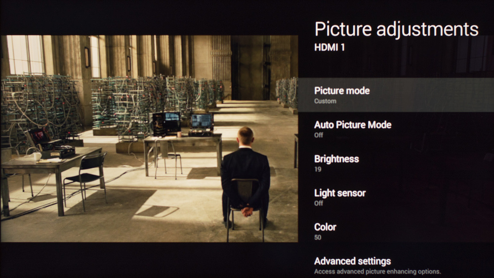 Sony W800C Calibration Settings 1