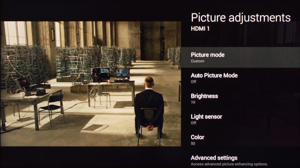 Sony W800C Calibration Settings 1