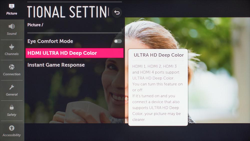 LG SM9000 Calibration Settings 53