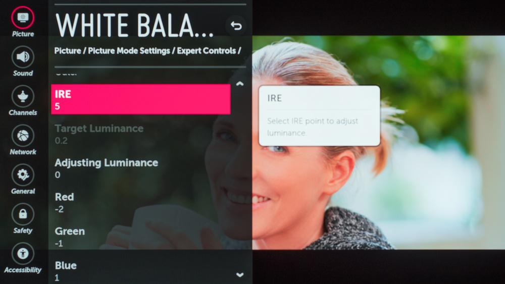 LG C8 OLED Calibration Settings - RTINGS com