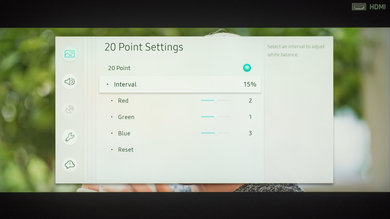 Samsung Q900/Q900R 8k QLED Calibration Settings 14