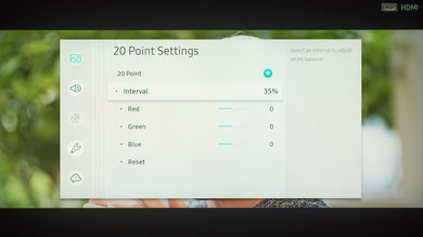 Samsung Q900/Q900R 8k QLED Calibration Settings 18