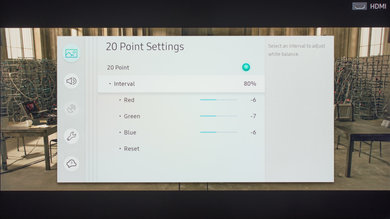 Samsung MU7000 Calibration Settings 24
