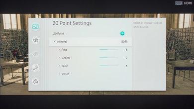 Samsung MU7000 Calibration Settings 24