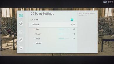 Samsung MU7000 Calibration Settings 25