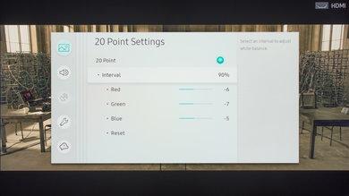 Samsung MU7000 Calibration Settings 26