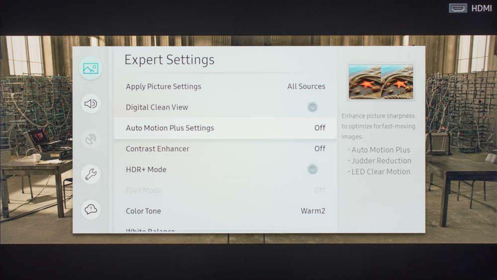 Samsung MU7000 Calibration Settings 4