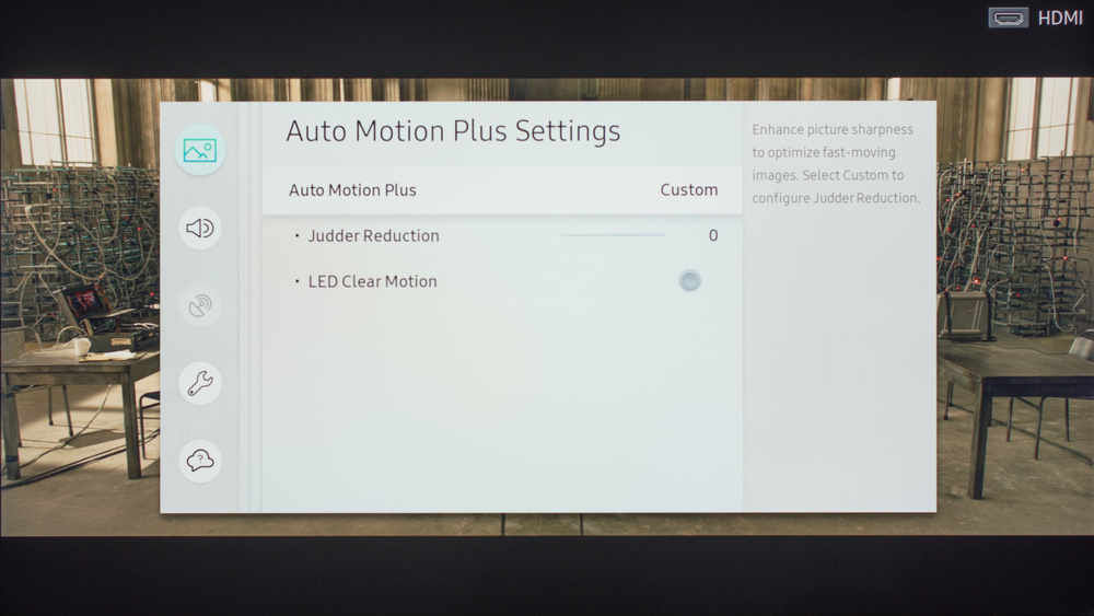 Samsung MU7000 Calibration Settings 5