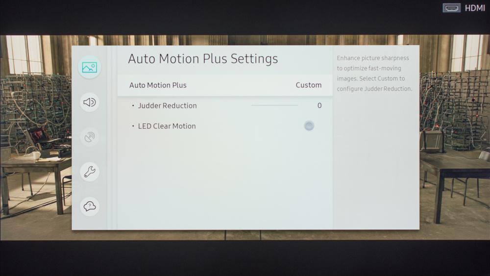 Samsung MU7000 Calibration Settings 5
