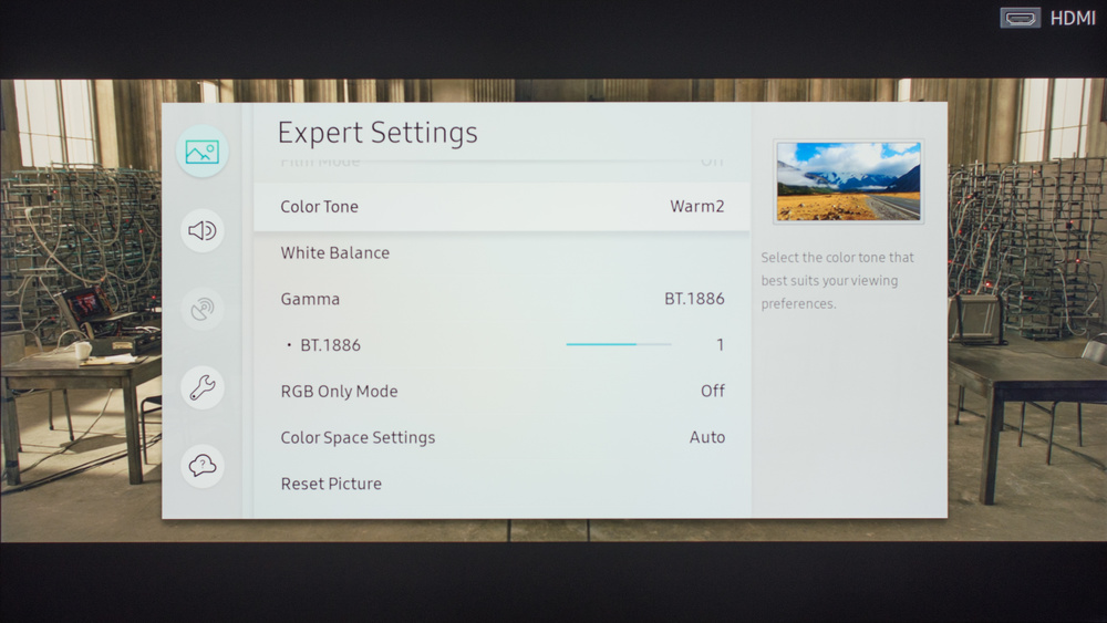 Samsung MU7000 Calibration Settings 6