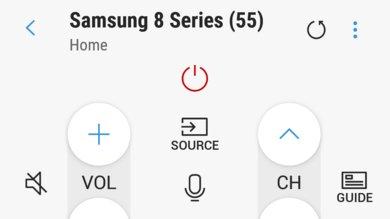 Samsung NU8000 Remote App Picture