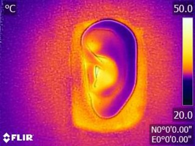 Sennheiser HD 201 Breathability Before Picture