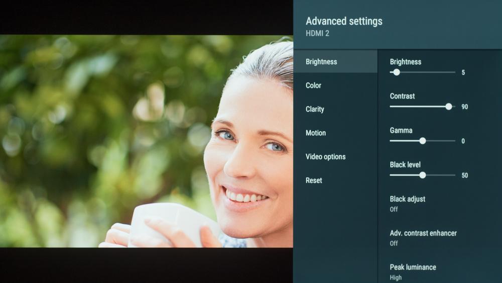 Sony A9F OLED Calibration Settings 3