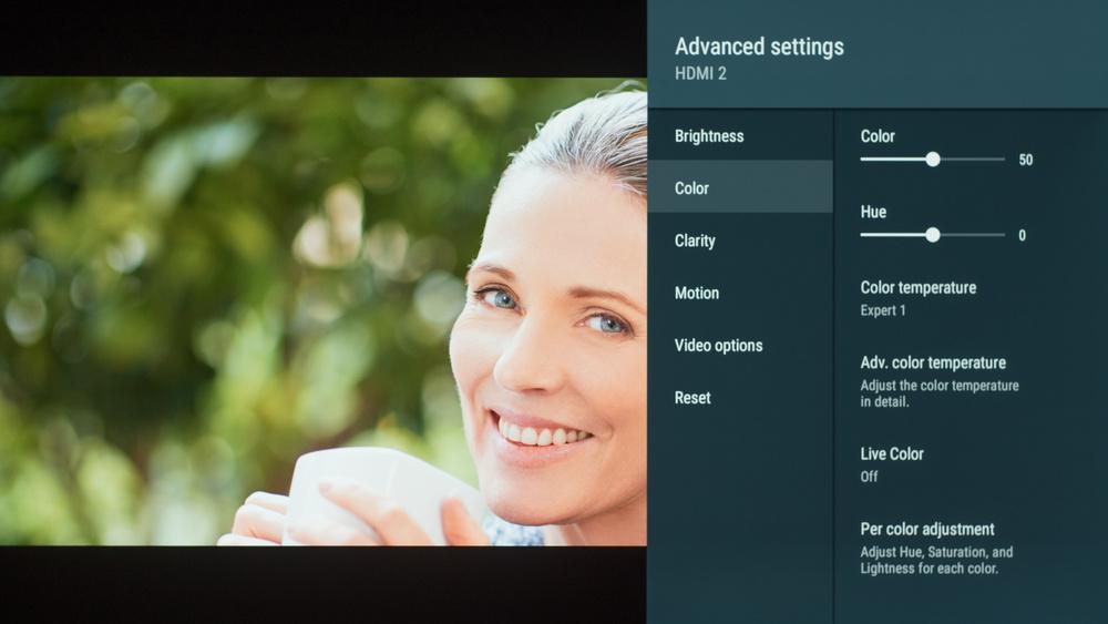 Sony A9F OLED Calibration Settings 4