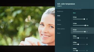 Sony A9F OLED Calibration Settings 6