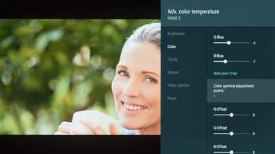 Sony A9F OLED Calibration Settings 7