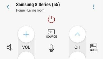 Samsung RU8000 Remote App Picture