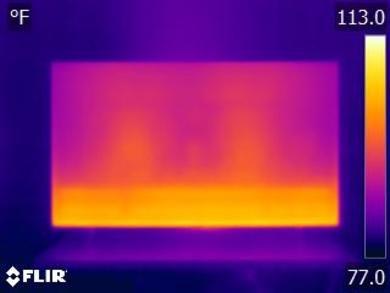 Samsung RU8000 Temperature picture