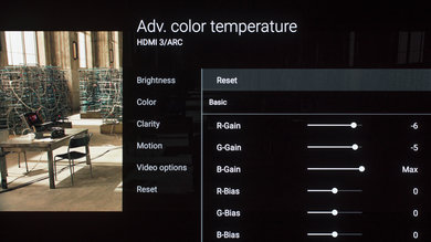 Sony A1E OLED Calibration Settings 11