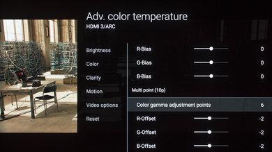 Sony A1E Calibration Settings 17