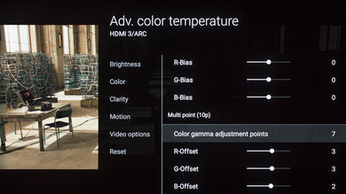 Sony A1E Calibration Settings 18