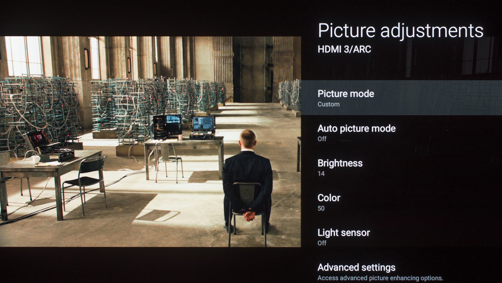 Sony A1E OLED Calibration Settings 3