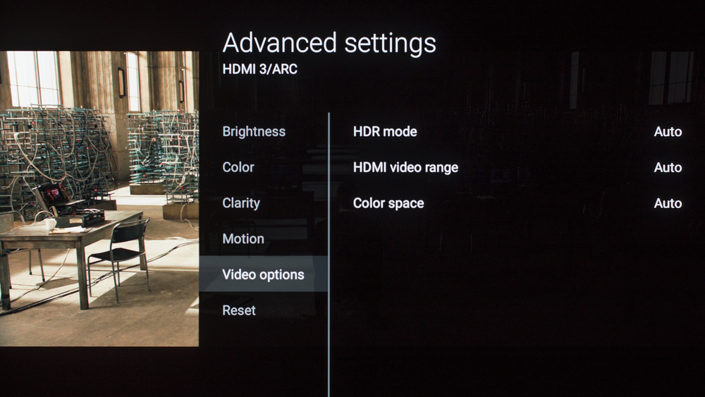 Sony A1E OLED Calibration Settings 8