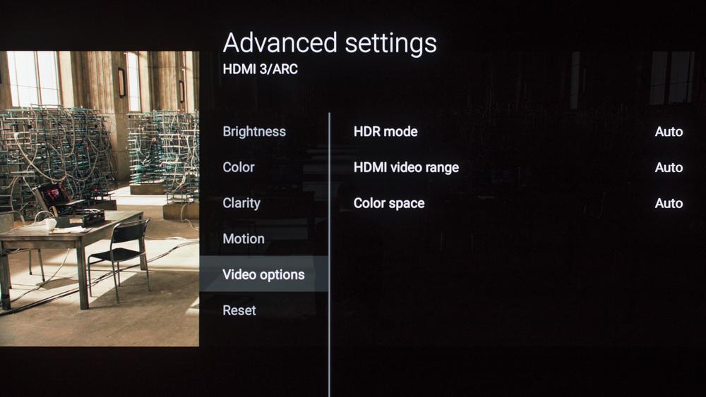 Sony A1E Calibration Settings 8