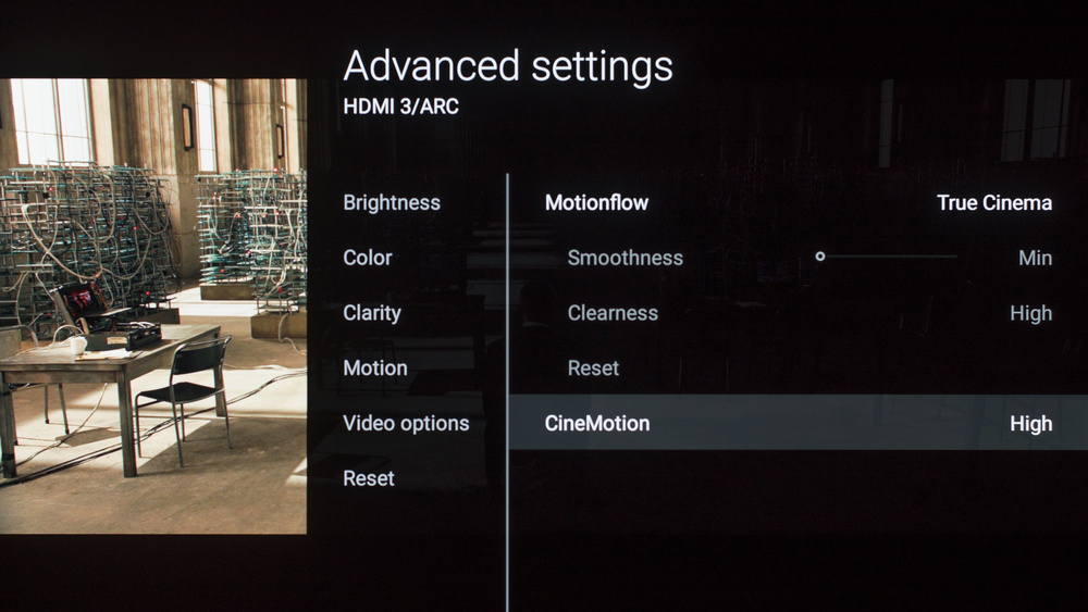 Sony A1E OLED Calibration Settings 9