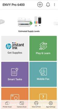 HP ENVY Pro 6455 App Printscreen