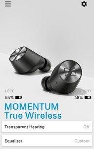 Sennheiser Momentum True Wireless App Picture