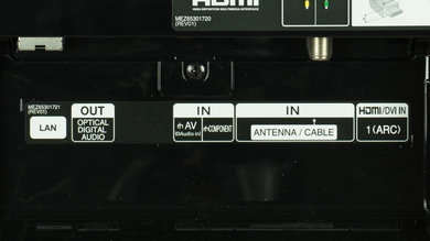 LG EC9300 Rear Inputs Picture