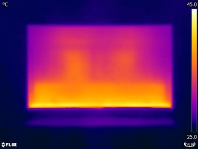 Samsung MU7600 Temperature picture