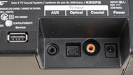 Bose Solo 5 Physical inputs bar photo 1
