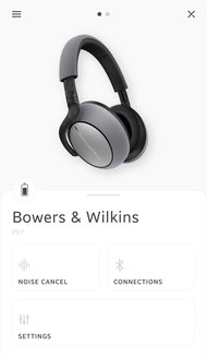 Bowers & Wilkins PX7 Wireless App Picture