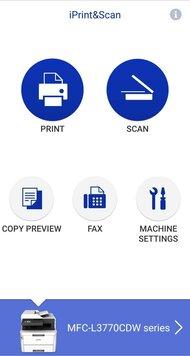 Brother MFC-L3770CDW Laser App Printscreen