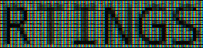 MSI Optix MAG161V ClearType Off