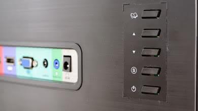 Sceptre C325W Controls picture