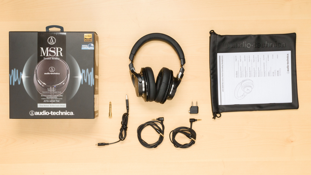 Audio-Technica ATH-MSR7NC In the box Picture