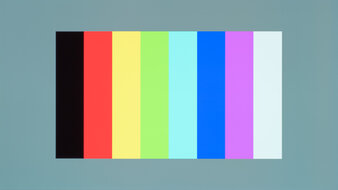 LG 48 CX OLED Color Bleed Vertical