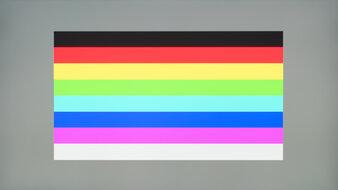 BenQ EX2780Q Color Bleed Horizontal