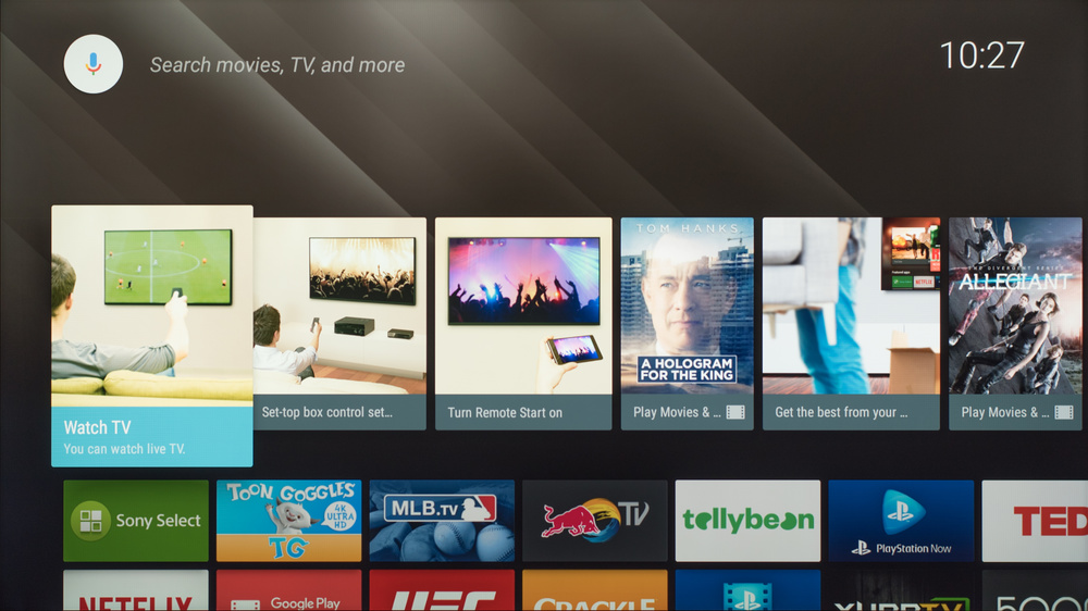 Sony X750D Smart TV Picture